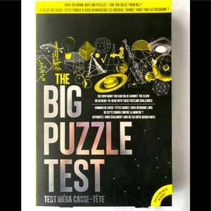 The BIG Puzzle Test: 100 Brain busting challenges